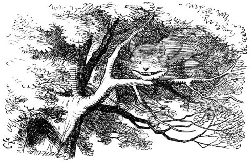 Chesire Cat by John Tenniel