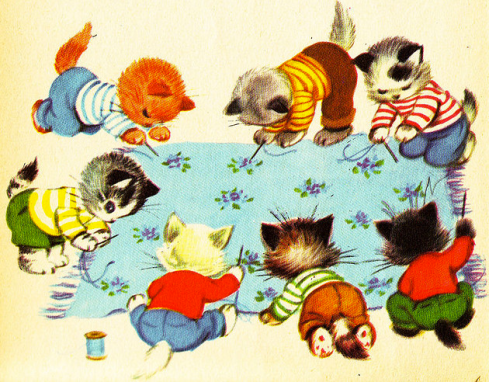 seven wonderful cats
