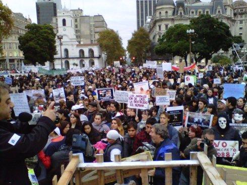 Marcha por el día del animal 2012