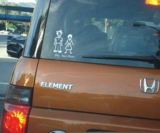 Loser sticker family