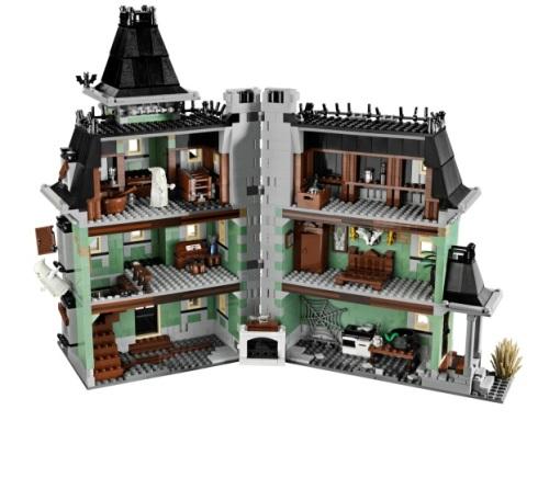 Casa embrujada de Lego
