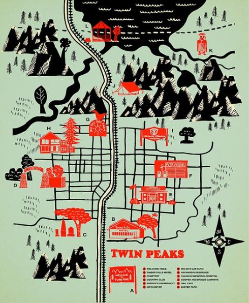 Twin peaks art fan