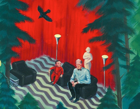 Twin Peaks Art Fan